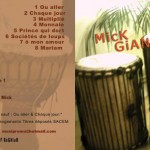 mick giani album-music