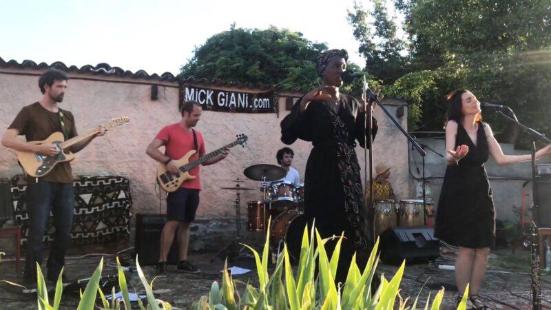 Mick Giani afro-rock-latino-reggae-funk